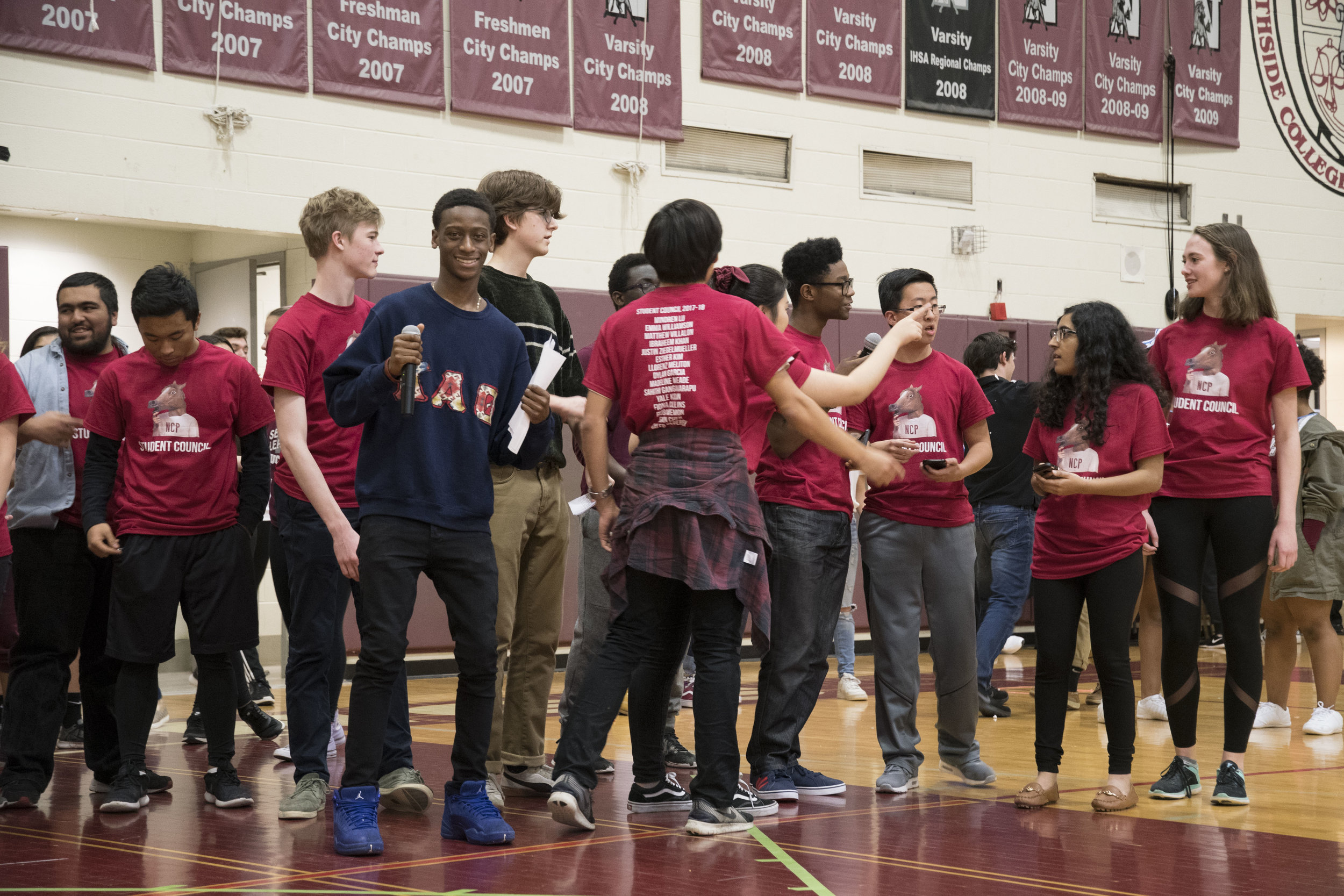 Student Council Comes Together to Announce Nominees