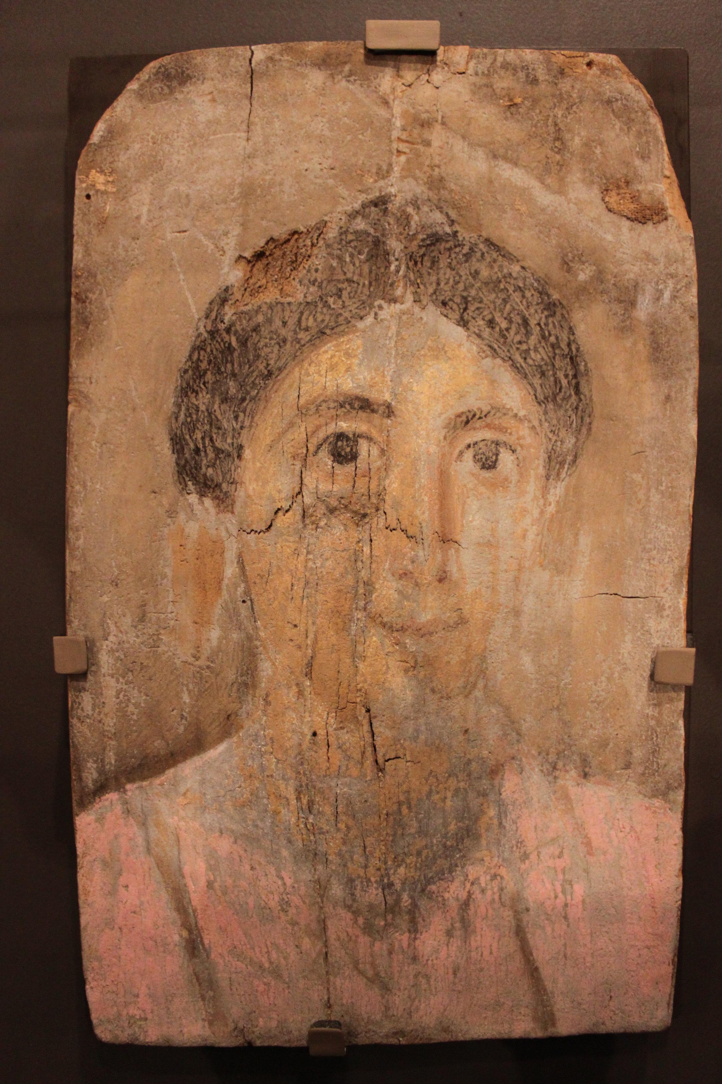 Mummy Portrait of Woman - Roman period (30 BCE  - 295 CE)