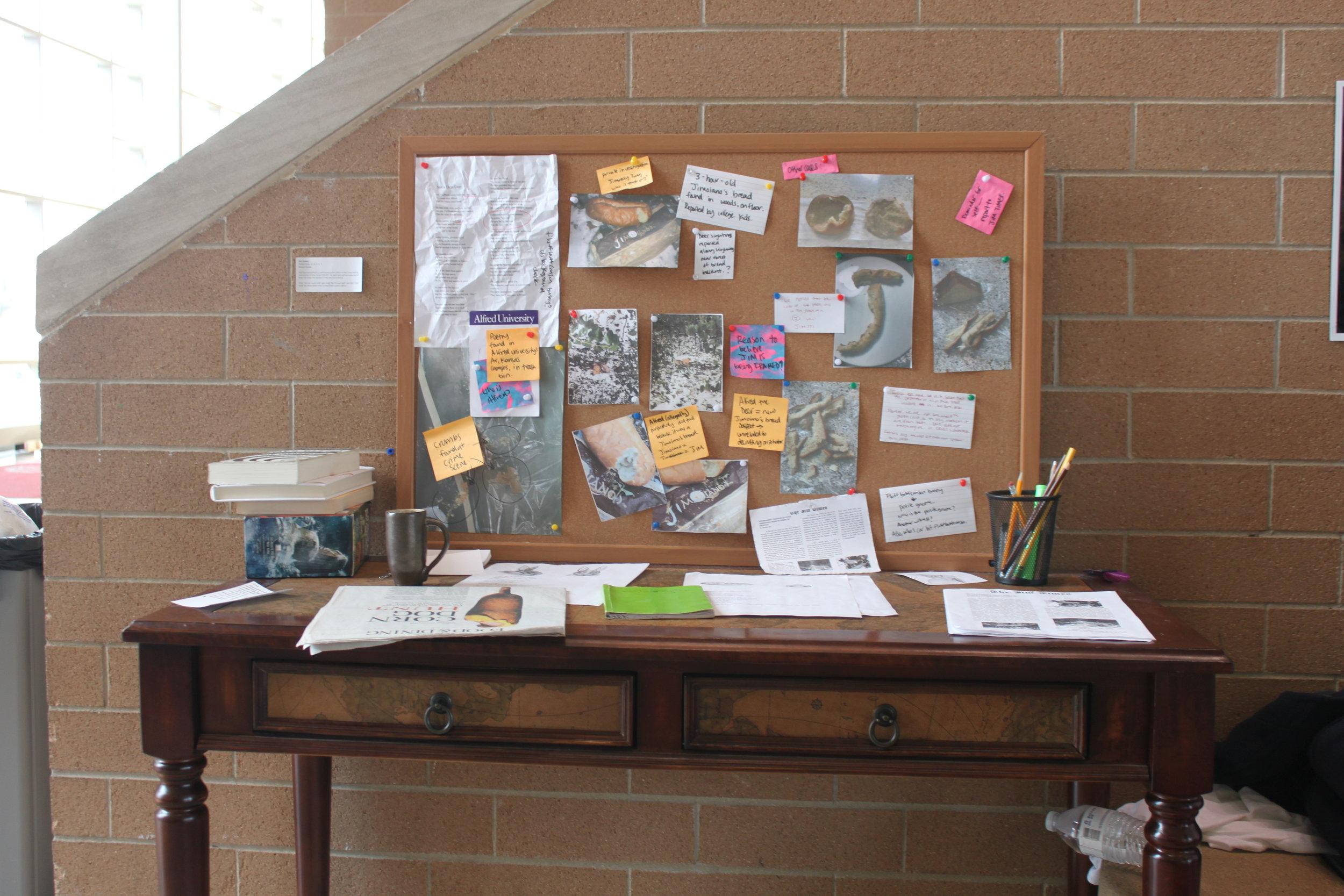 Artist, Jim James, Police Desk - C. R. U. S. T