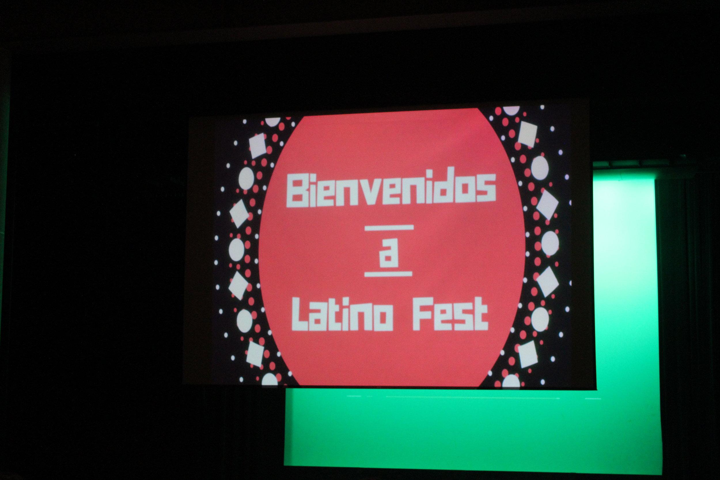 Bienvenidos a Latino Fest!