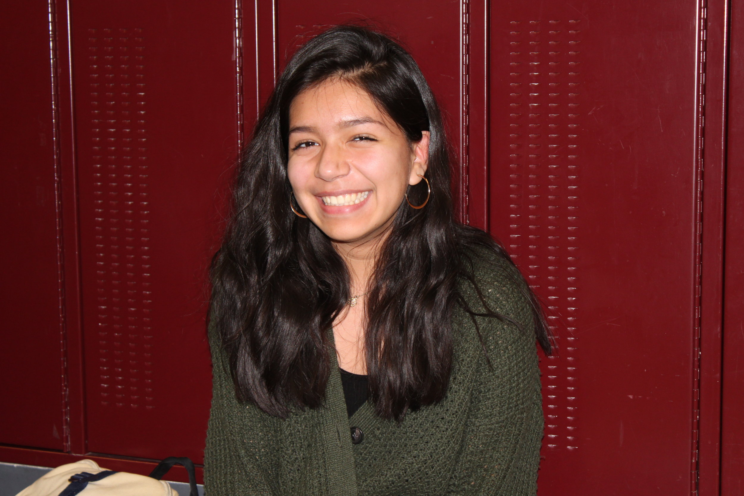 """""""I just want... I don't even know what I want..."""" says junior Milly Tejeda, Adv. 001"""