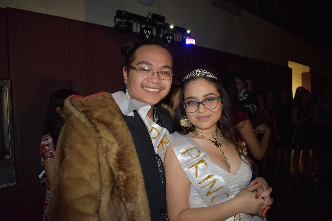 Sebastian Vergara (Adv. 005) and Aaliya Vega (Adv. 009) were crowned Prince and Princess