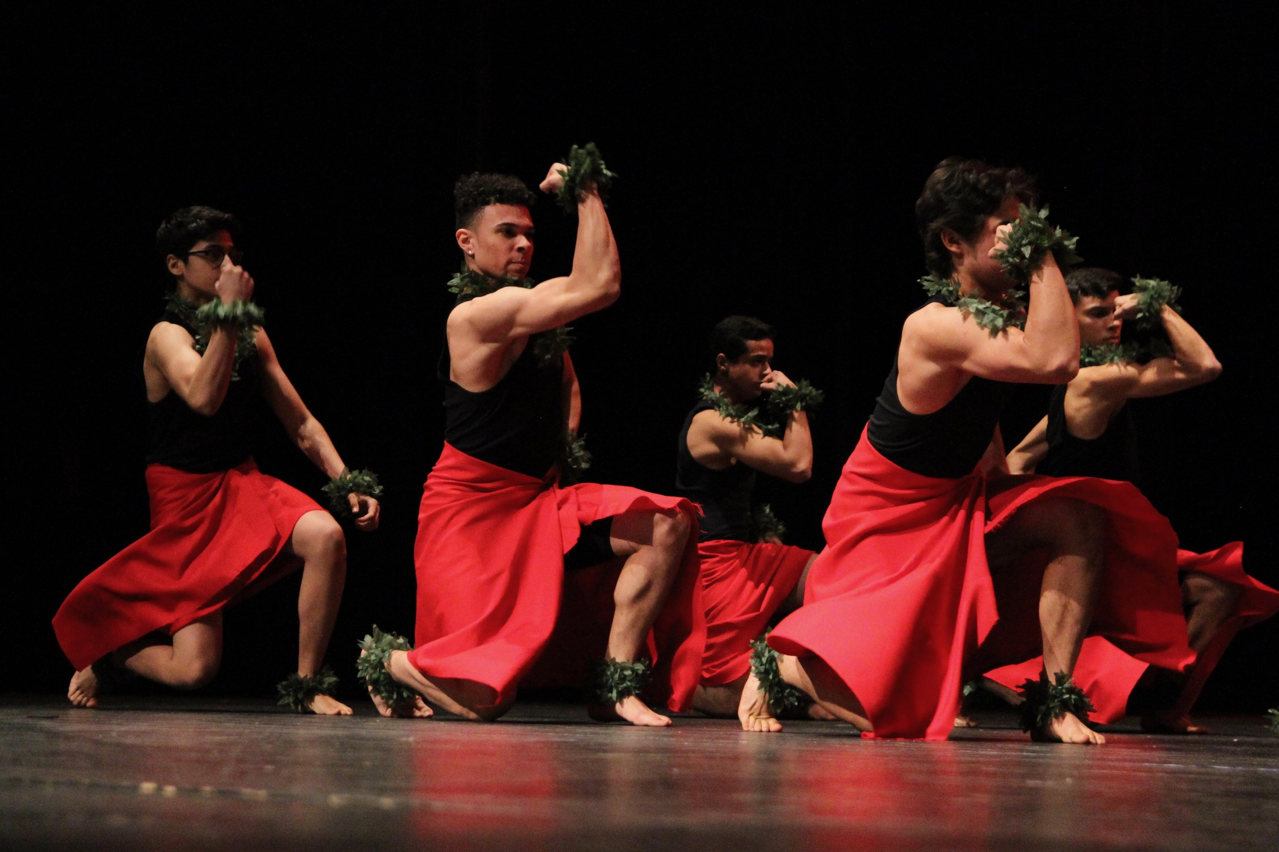 The men of Ohana continue to show their strength as we get a glimpse of their powerful muscles