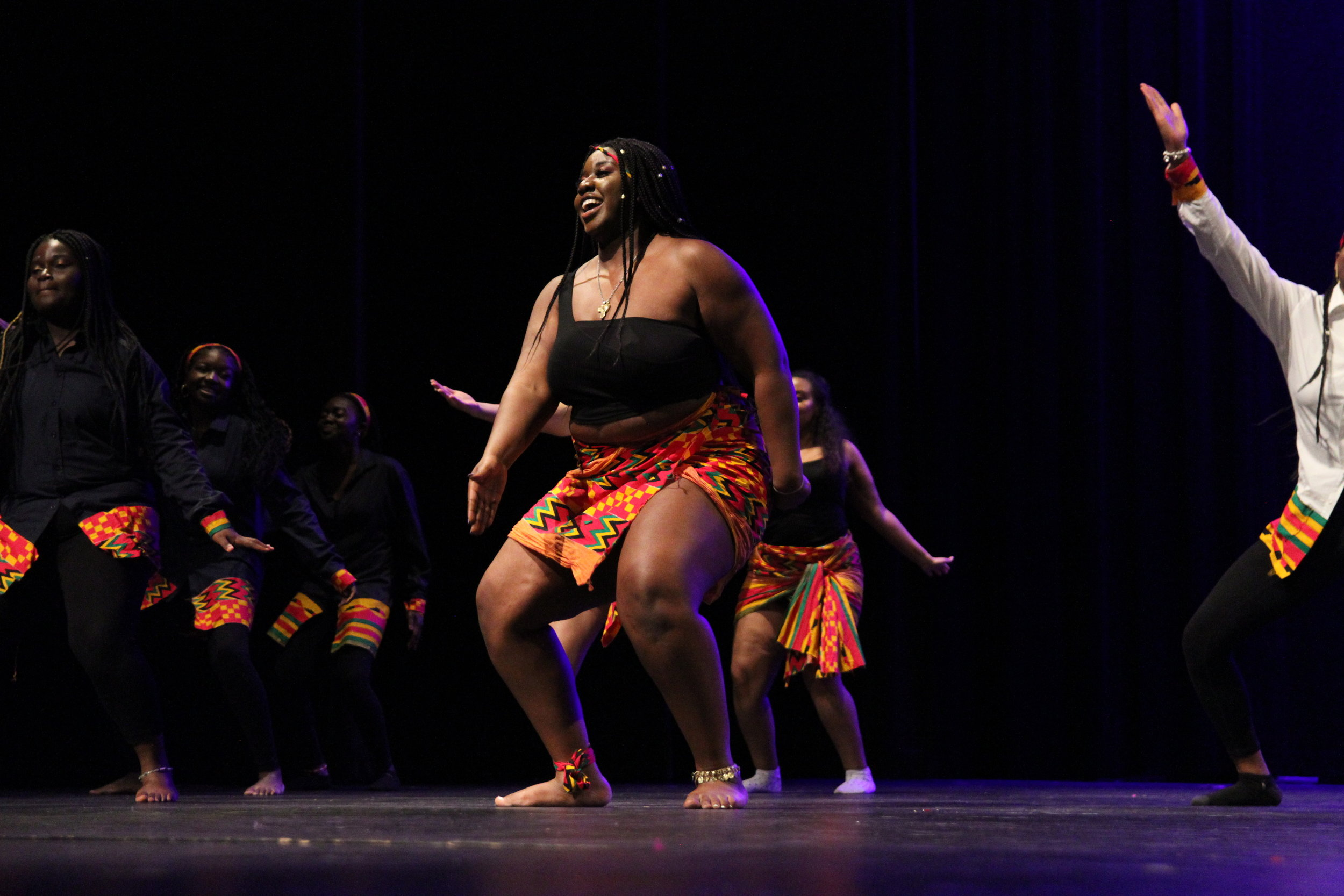 After a brief intermission, Uzuri wa Afrika, comes out on stage and Zainab Umardeen, Adv. 909