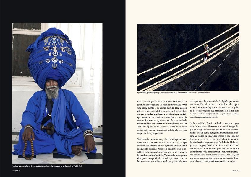 Revista Puente. PORTAFOLIO FOTOGRÁFICO.