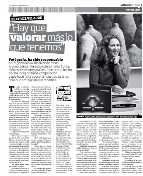 Diario El Peruano.