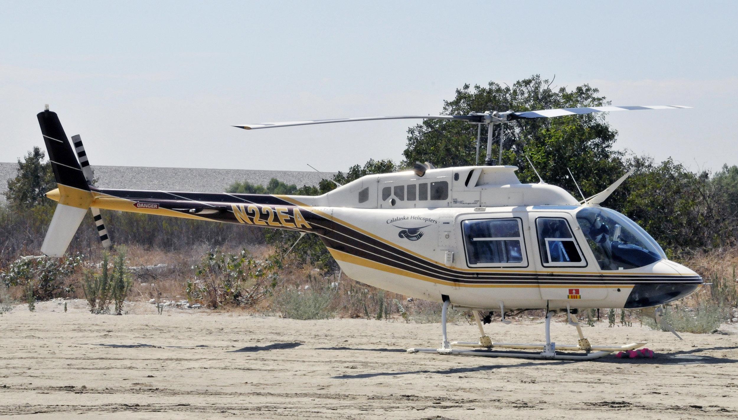 Williams Fire Helibase - Calalaska Helicopter A.jpg