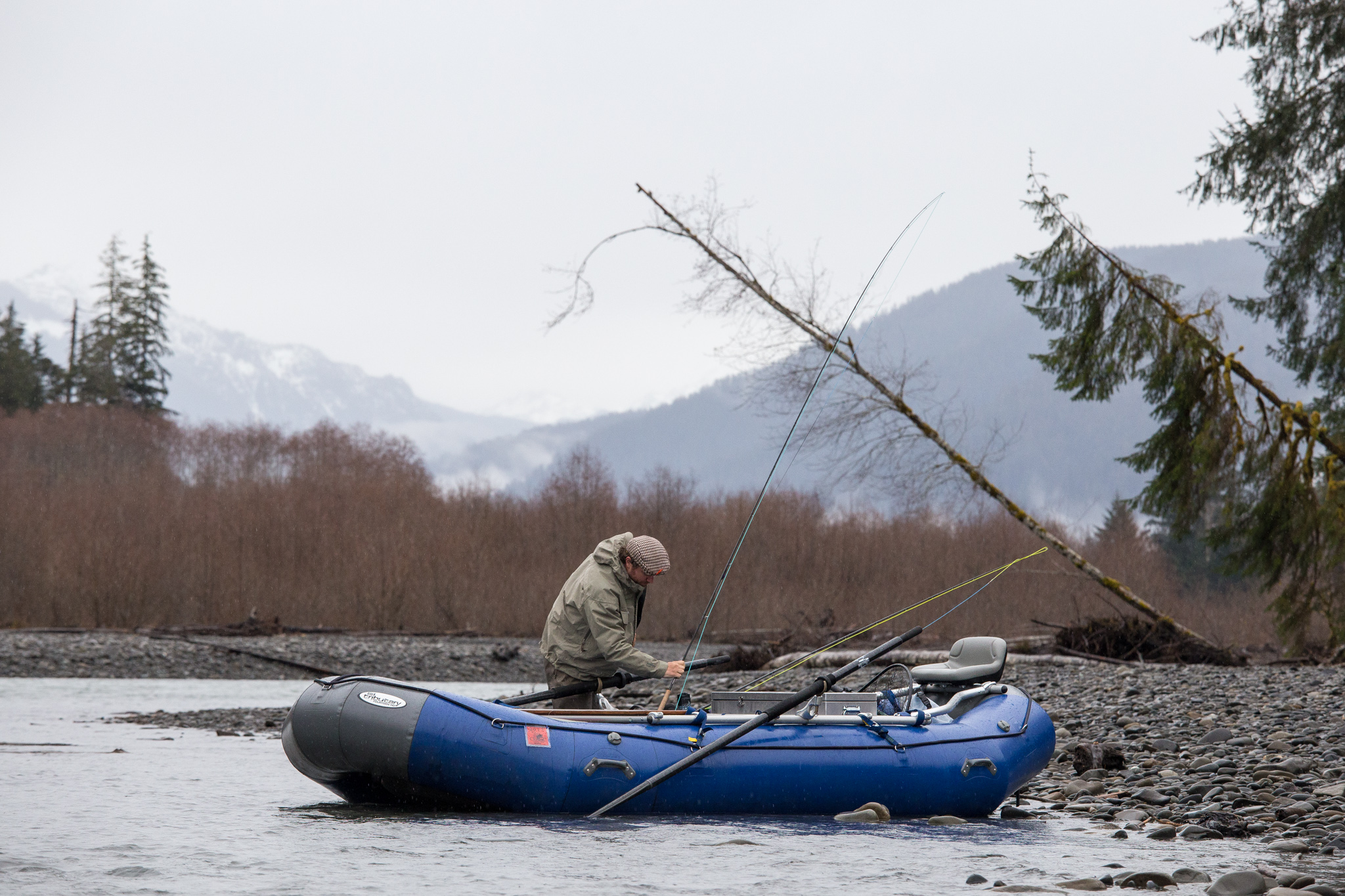 Hoh River Fly Fishing Guide Service