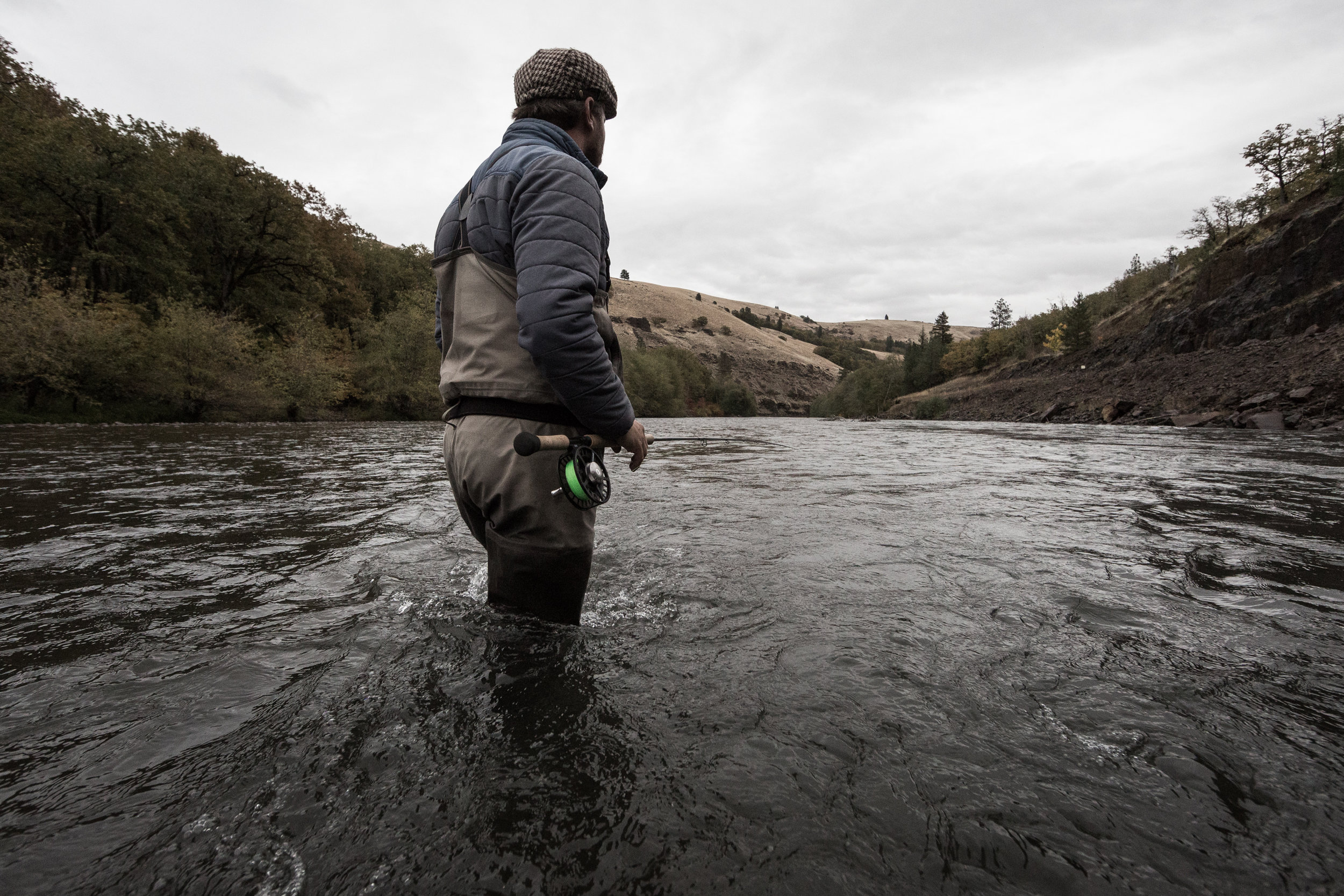 Klickitat Fly Fishing. photo Caldwell Rohrbach.