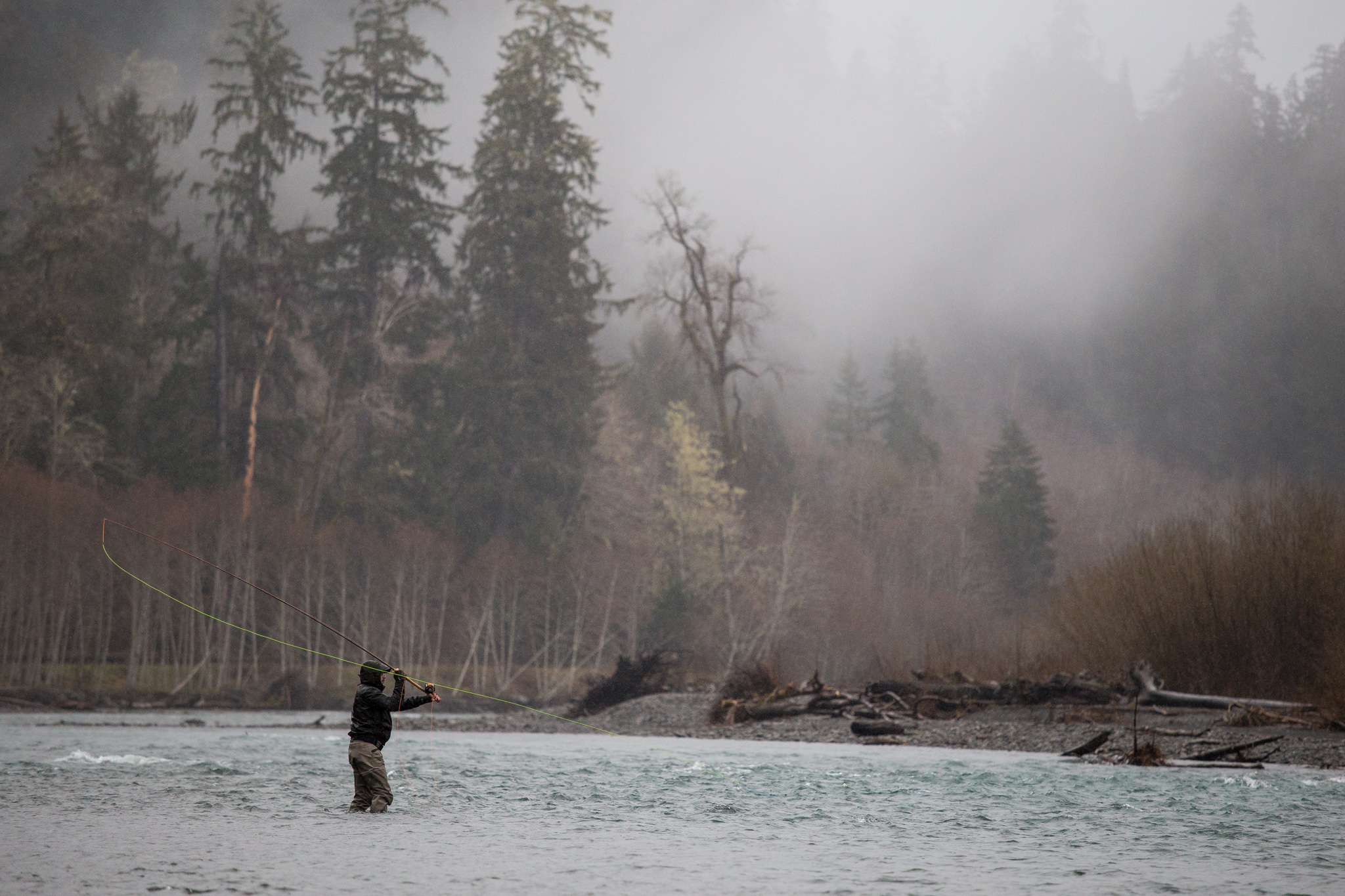 Washington Steelhead Fly Fishing Guide Service