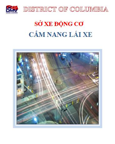 Washington DC Driver's Manual in Vietnamese