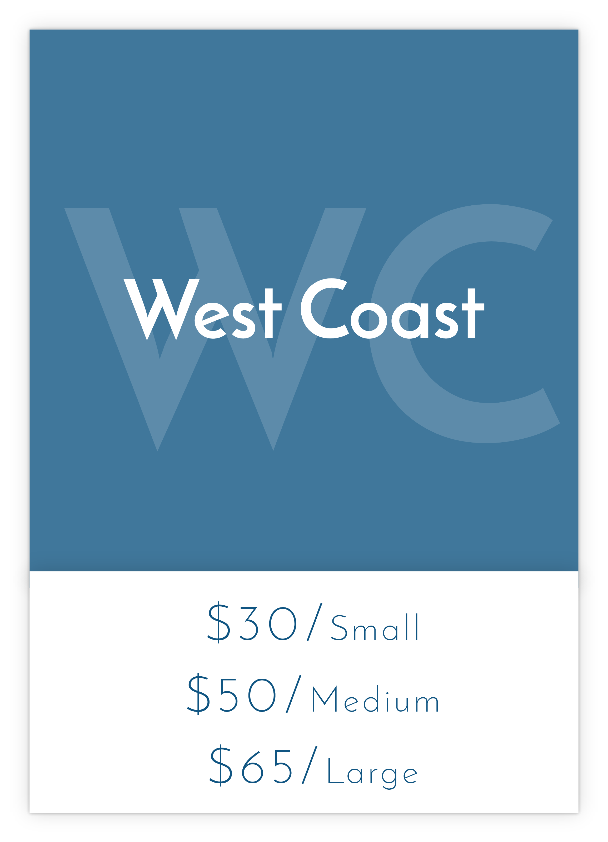 West Coast Shipping