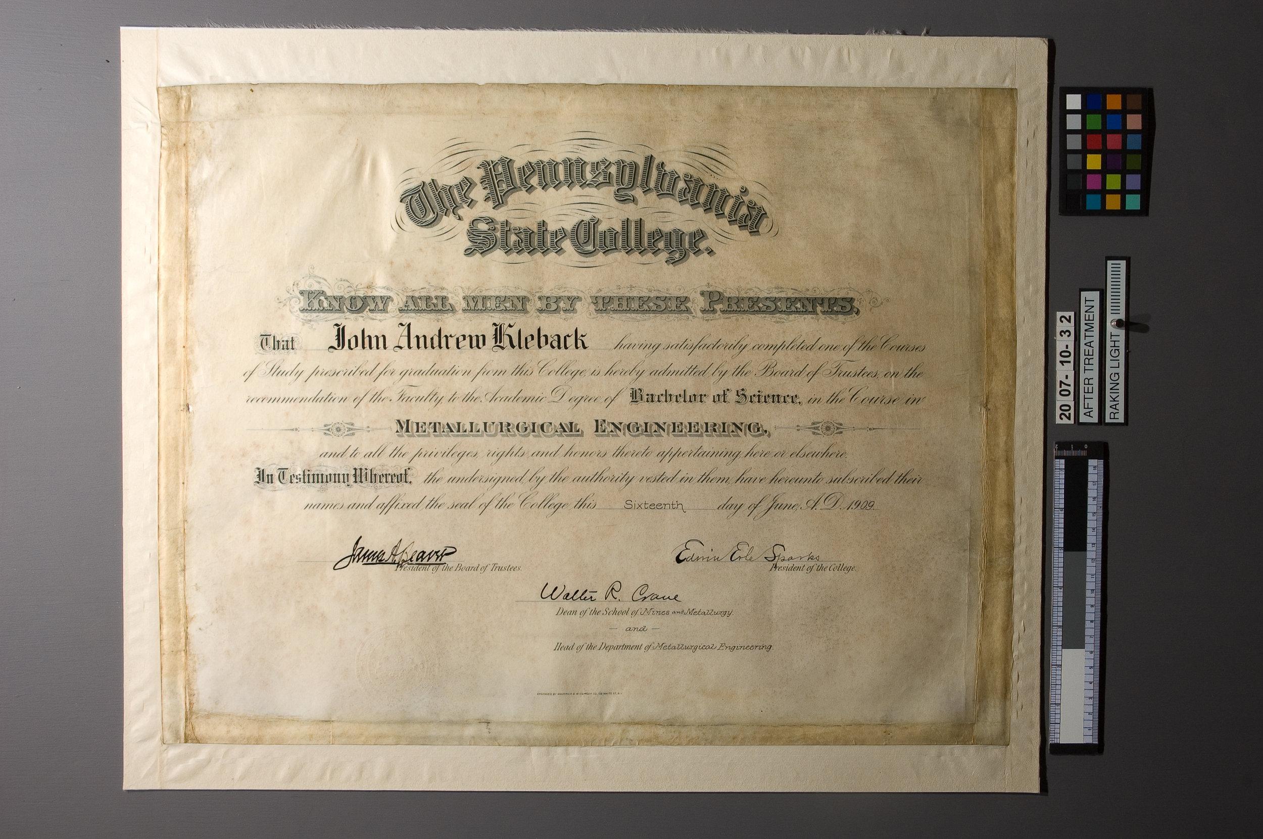 Parchment-Diploma-05-After-RakingLight