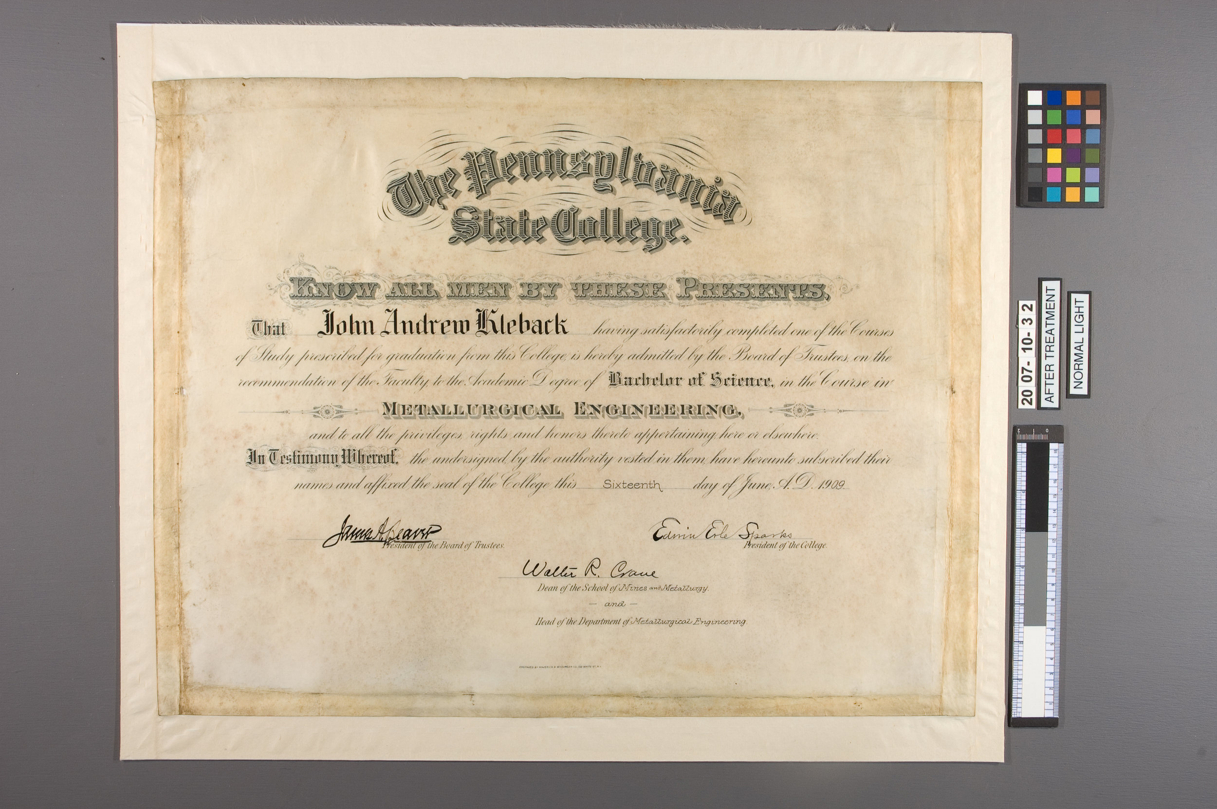 Parchment-Diploma-04-After-Mounted