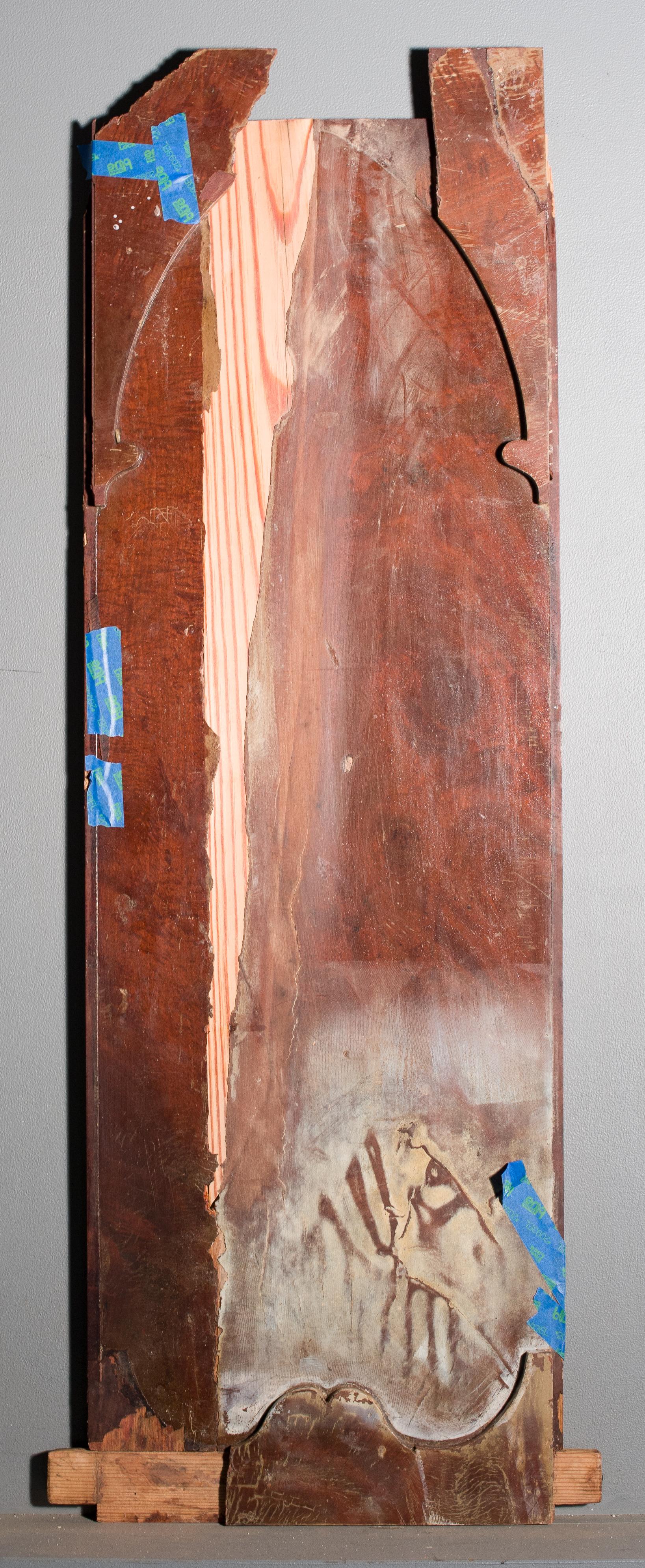 Wedge-shaped, long leaf pine restoration
