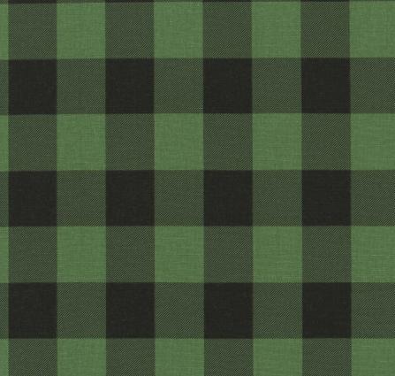 Green/black buffalo check