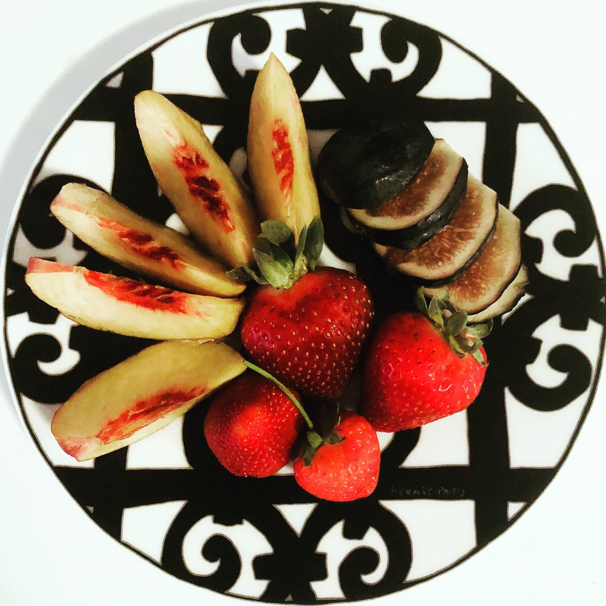 HERMÈS FRUIT PLATE
