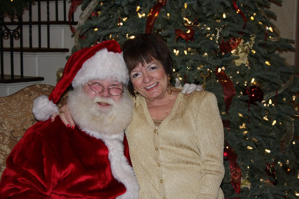 My beautiful Grandma and the best Santa you'll ever see. He was a Baum family tradition since 1983.