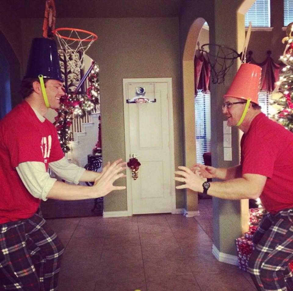 Bucketball, Ashley's reindeer game 2015