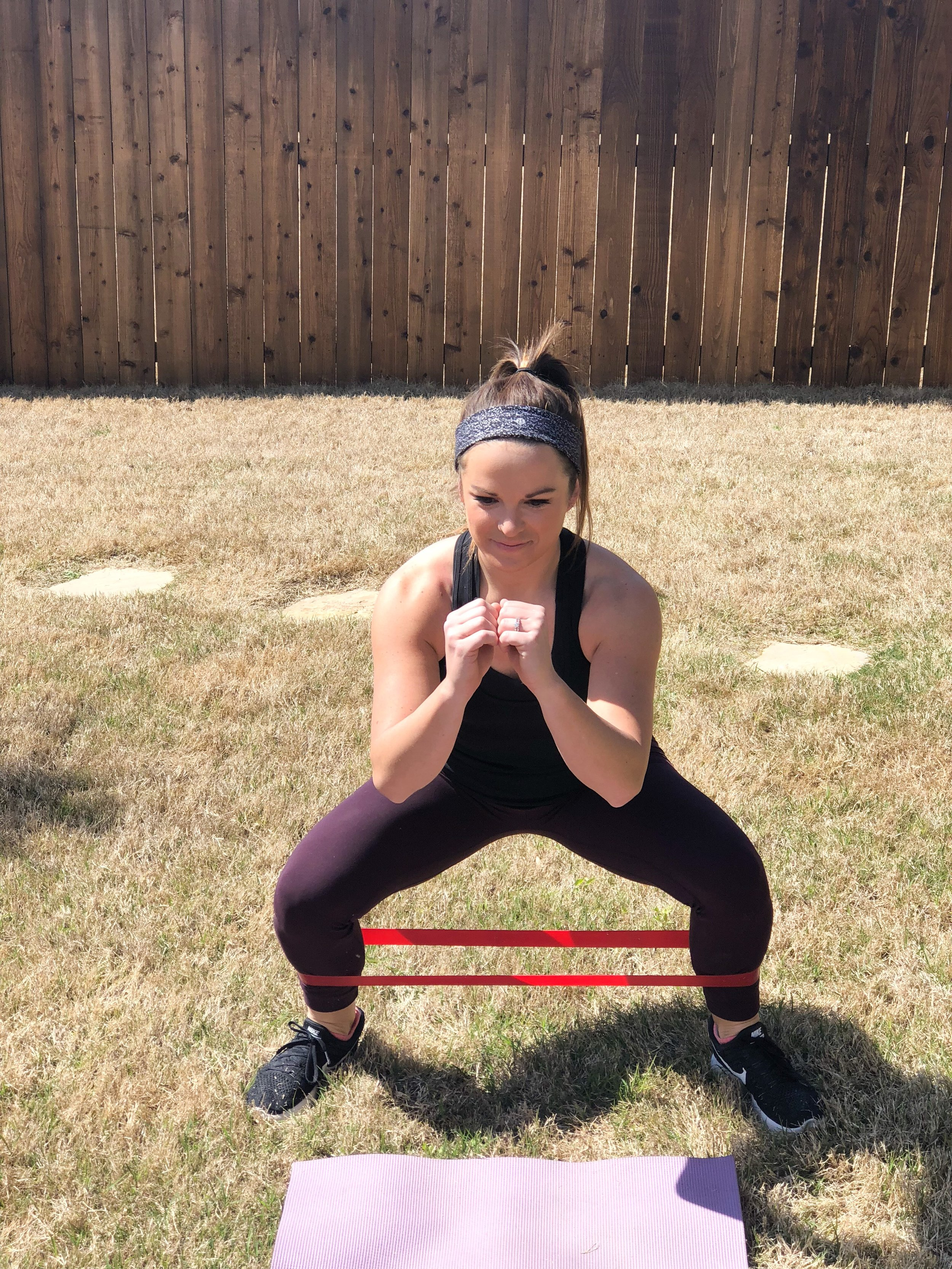 shoot those hips back, and keep your weight in your heels and the balls of your feet and off of your toes