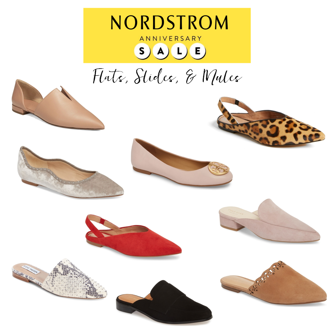 Nordstrom Anniversary Sale Falts Slides and Mules.png