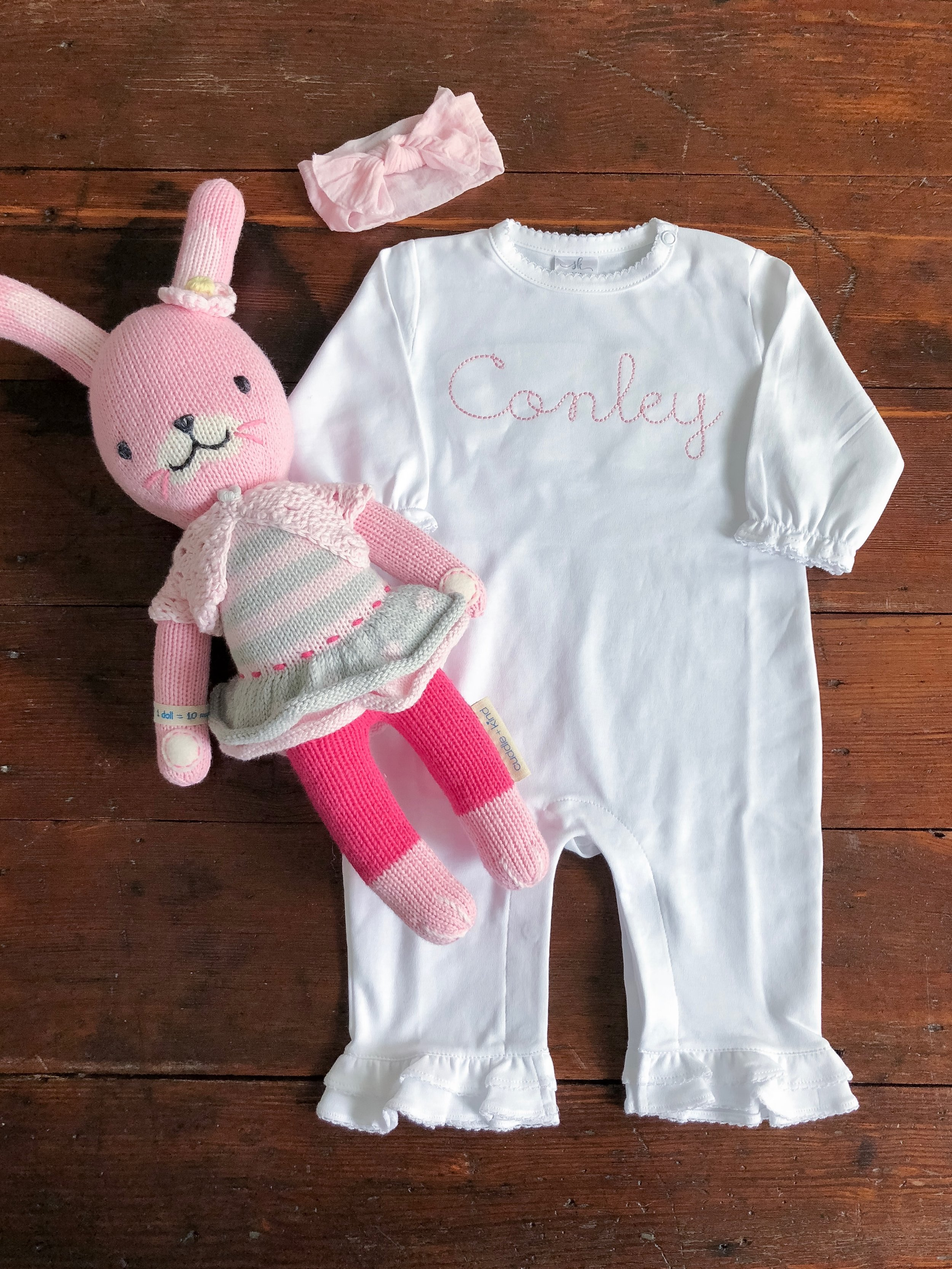 How sweet is this onesie from SKCreations?!