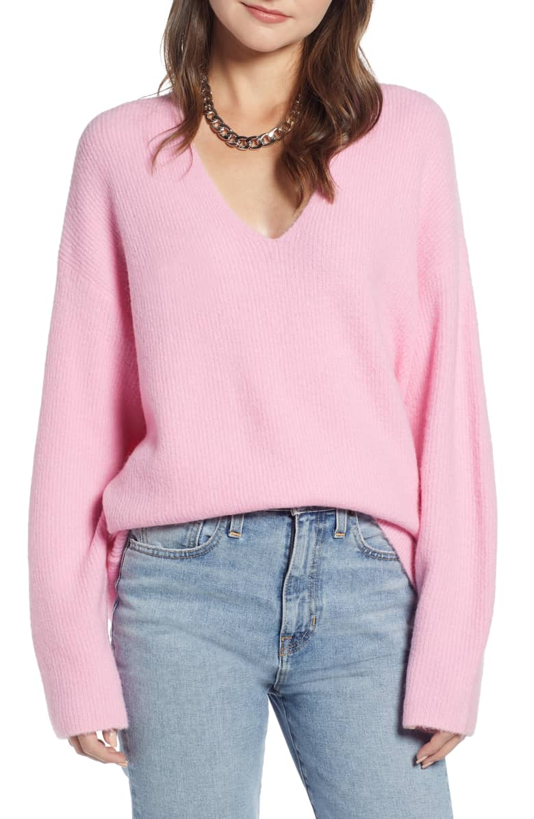 Something Navy Low Neckline Slouchy Pullover.jpg