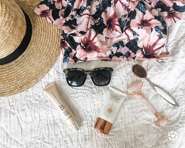 "It's been a hot minute since we posted on the blog but today we're baaaaack & sharing a few of our summer favorites! Everything from a cute summer hat to hair products we're loving to our favorite pair of sunglasses. Head to the link in our profile to read the full post! http://liketk.it/2Degy @liketoknow.it #liketkit  Shop all of our favorites with the LIKEtoKNOW.it app or in the ""Shop Our Instagram"" page on the blog! 💛  Do you have any summer faves?! Let us know in the comments!"