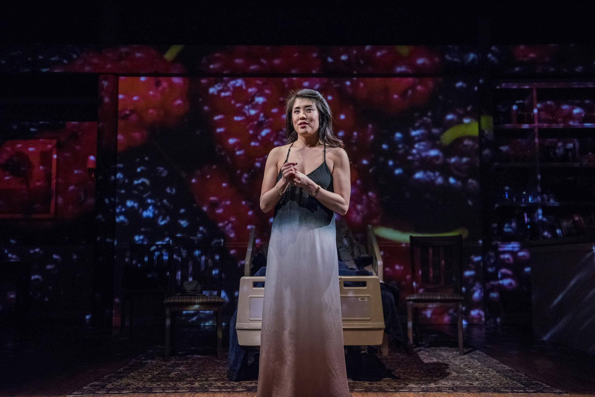 Eunice Bae in   Aubergine   at Everyman Theatre.