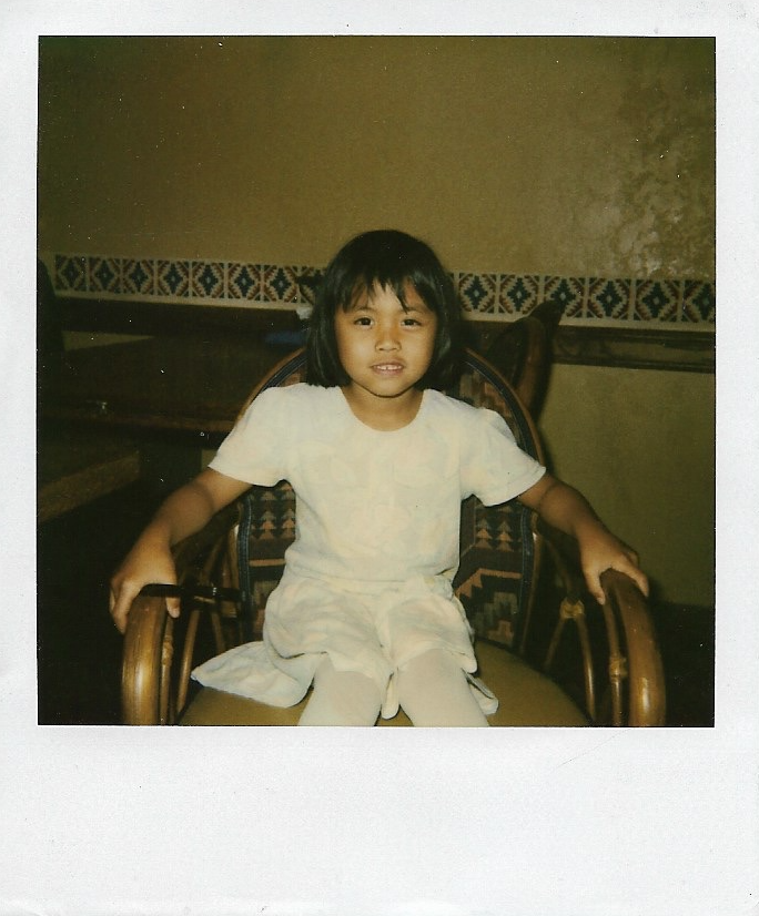 Four year old, mutant me.