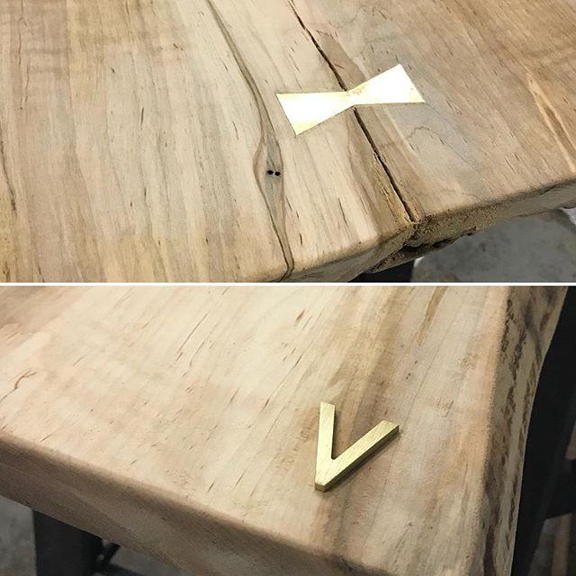 Bow tie in, branding is next! . . . . . #liveedgetable #liveedge #liveedgewood #liveedgefurniture #liveedgeslab #liveedgeslabs #liverdgedesign #furniture #furnituredesign #furnitures #woodwork #woodworking #woodworkingshop #woodworkingcommunity #woodworkingskills #woodworkingproject #woodslab #woodslabs #woodslabtable #woodporn #wooddesign #woodart #woodisgood