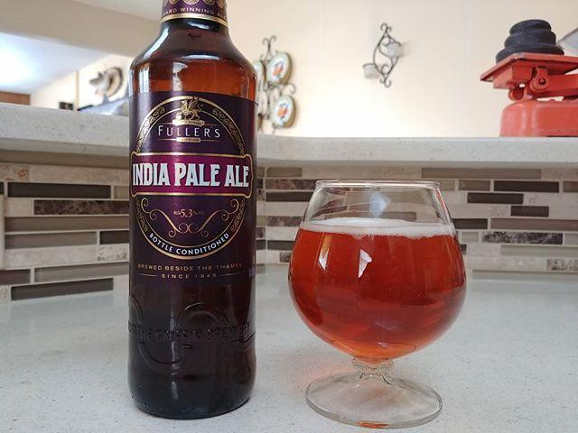 Sometimes you want a British IPA. . . . . . . #beersandcheers #beer #bottleconditioned #ipa #lowalpha #ukbeer #brew #beers #britishbeer