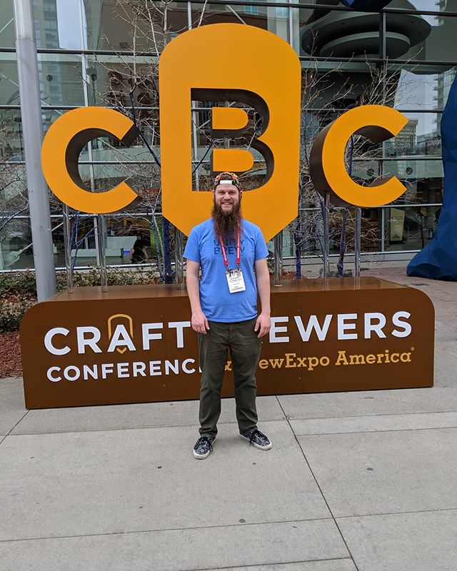 Had a fantastic time down in Denver, CO at @brewersassoc #craftbrewersconference 2019! Amazing beer, amazing people! . . . . . #craftbeer #cbc2019 #craftbrewersconference2019 #brewersassociation #brewers #conference #beerstagram #beers #denverbeer #colorado