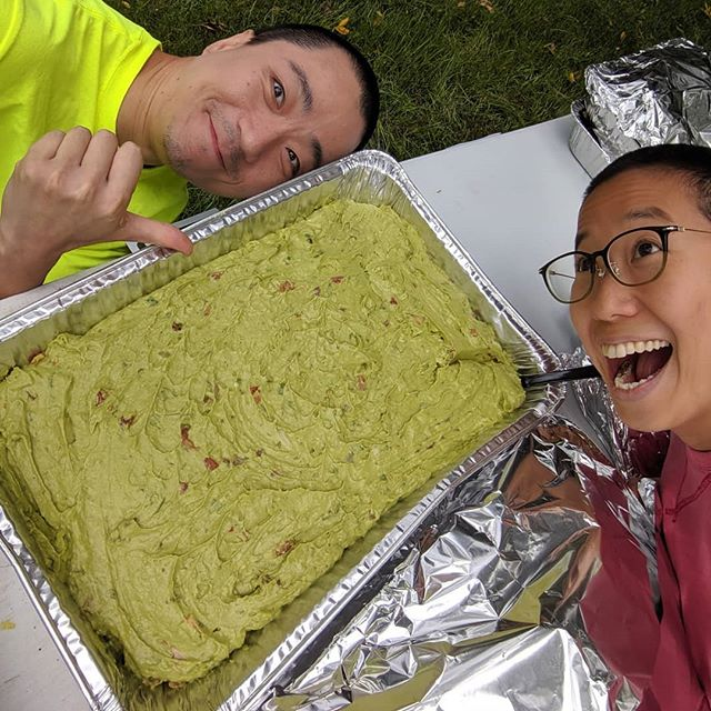 Our food is our home! Shout out to our amazing catering Manana for the ocean of guacamole!!!! 🥑🥑🥑🥑🥑🥑🥑🥑