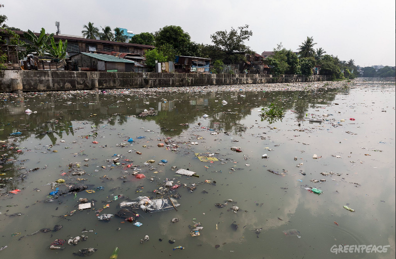 Photo from Greenpeace.org of what the river usually looks like.