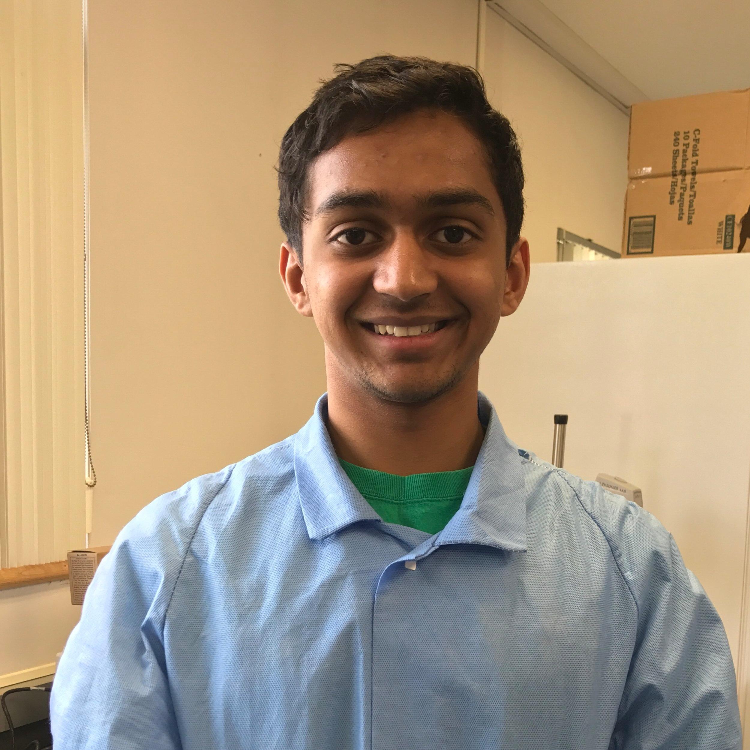 Vaibhav Mangipudy / Undergrad Student   Email: vsm2114@columbia.edu