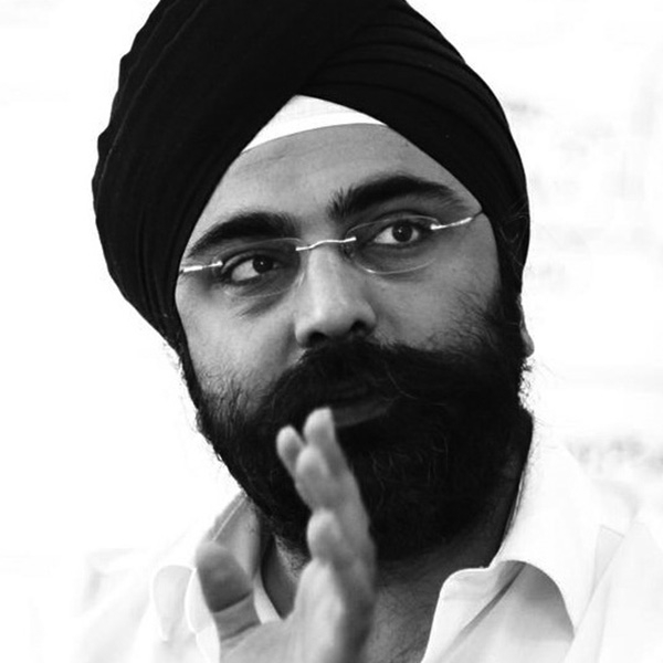Indy Johar, co-founder of the Project00.cc (London)