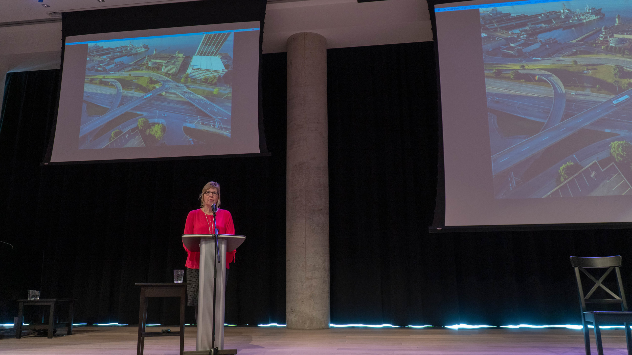 Donna Davis, Halifax - The Cogswell Interchange in Halifax is widely regarded as a mistake, a relic of misguided transportation planning policies. However, the Cogswell Interchange may be a blemish on the city of Halifax, it might also be its greatest opportunity.