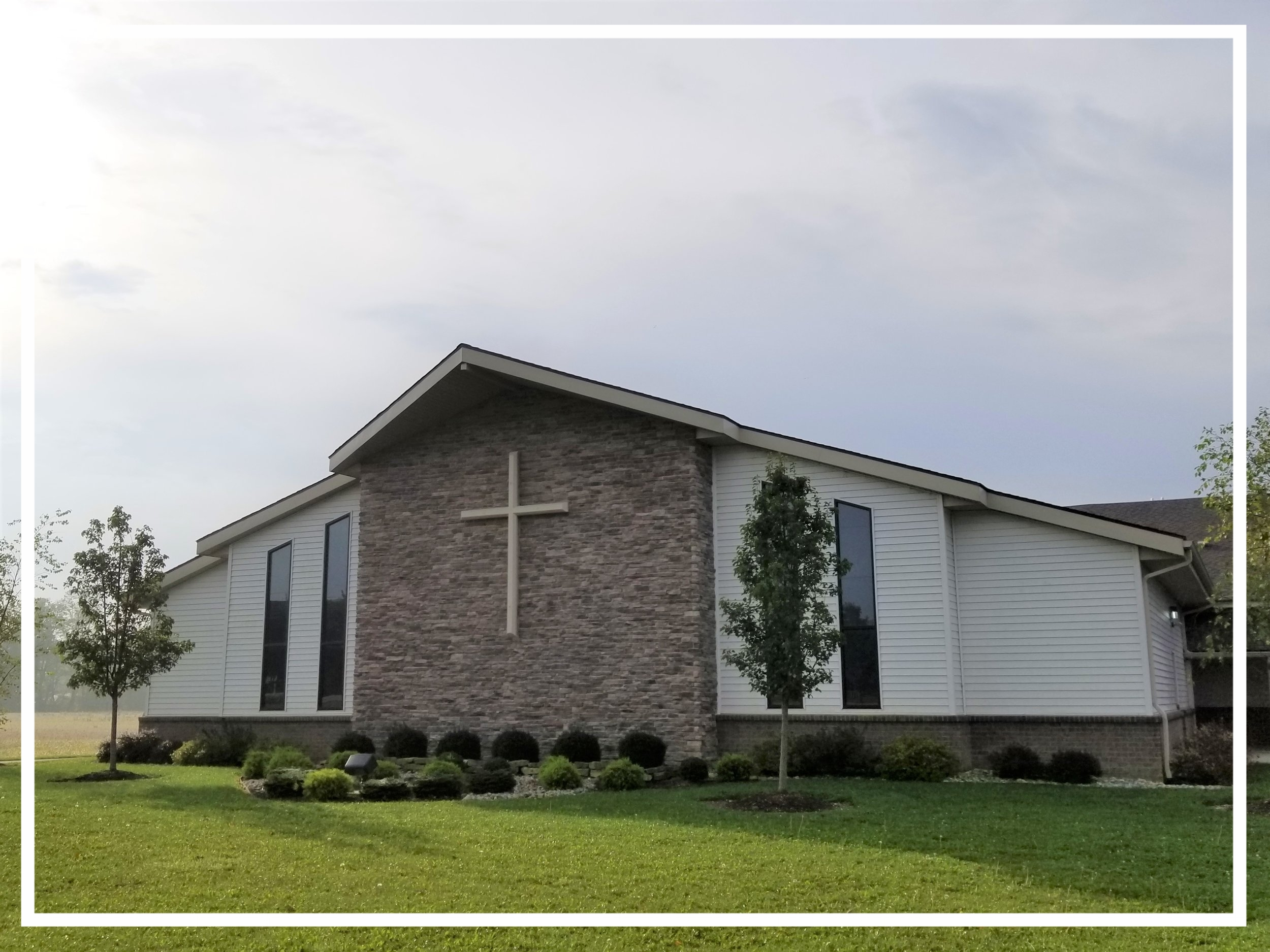 Worship Center - The Worship Center is the first building on your left as you enter the church parking lot from Flutter Road. This is where we gather for our worship service each Sunday at 10:30 am.