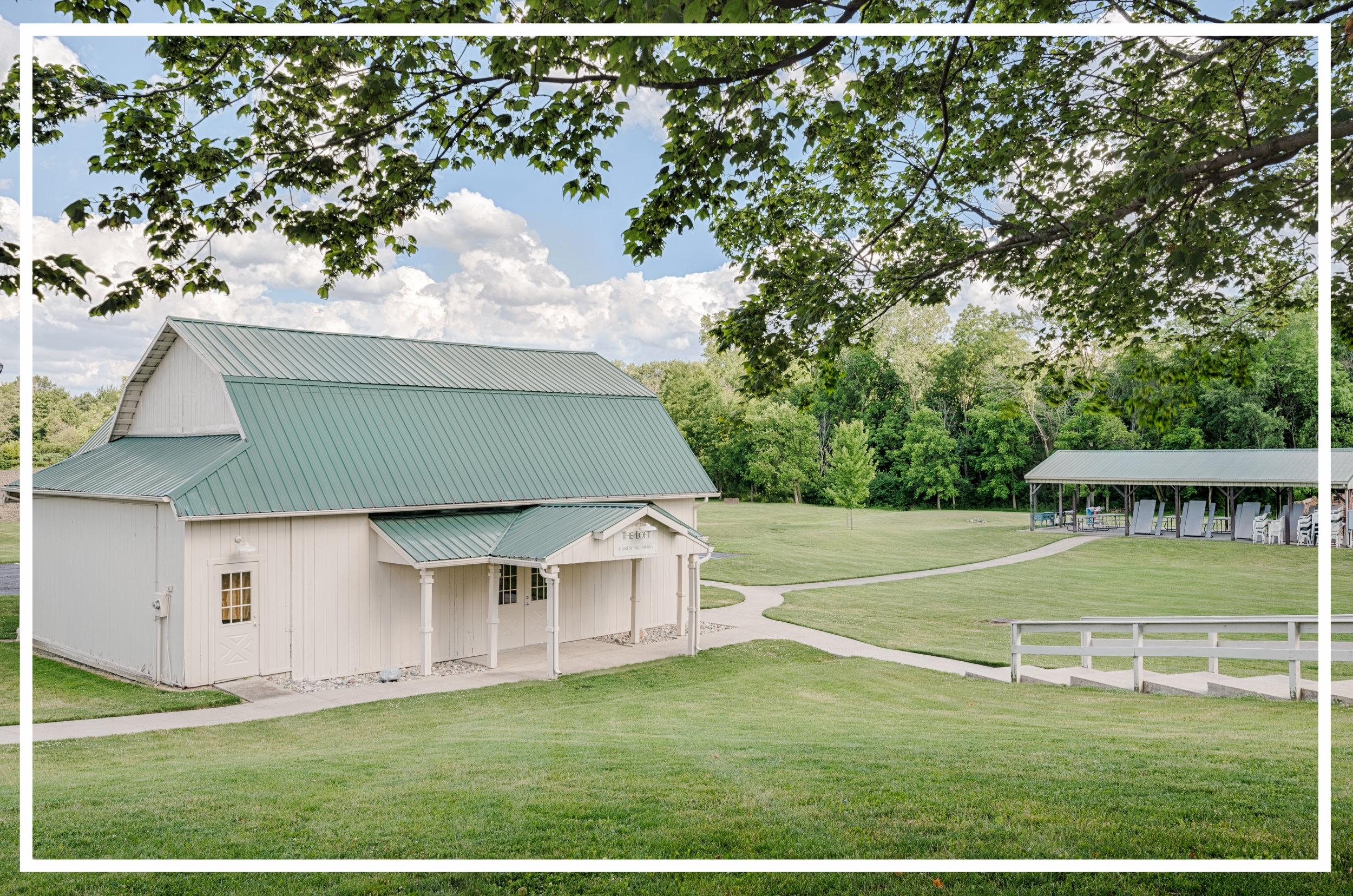 The Loft - The Loft is where the youth (grades 6-12) meet on Sunday at 9:00 am for their Bible Fellowship groups as well as on Sunday night for youth group at 6:00 pm. The Loft is a converted-renovated barn which is located down and behind the Worship Center.