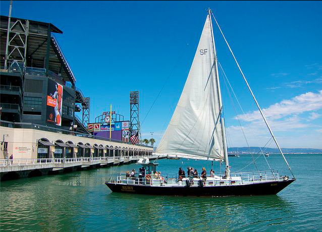 The ruby at mccovey cove