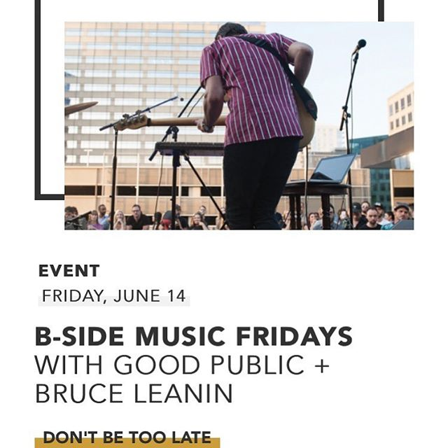 @mca_denver is hosting @bruceleanin for B Sides June 14th 😱 free with admission to the museum // rooftop performance // drinks and music what more do you need?  #meatteam #mca #bsides #bruce