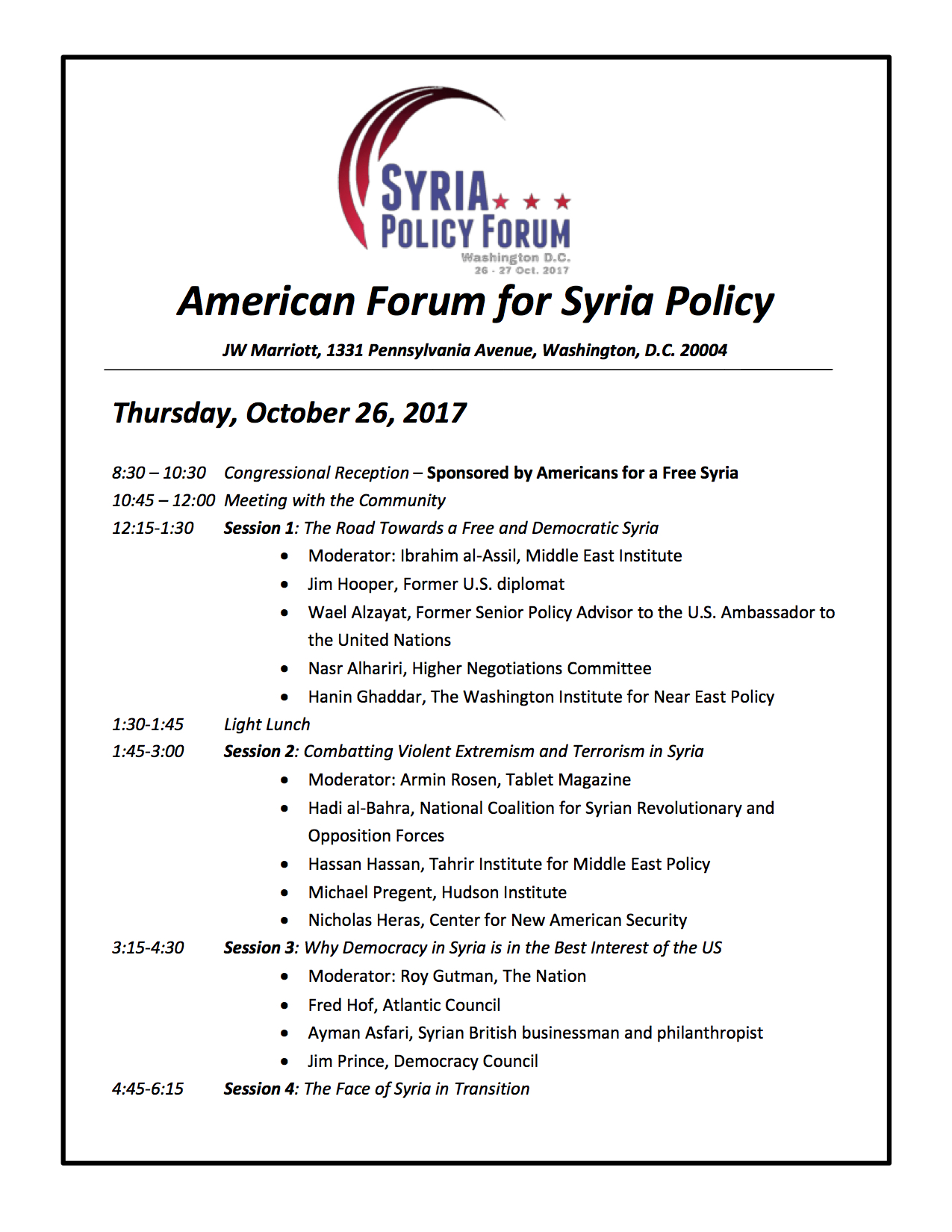 Syria Policy Forum - Agenda with Speakers.jpg