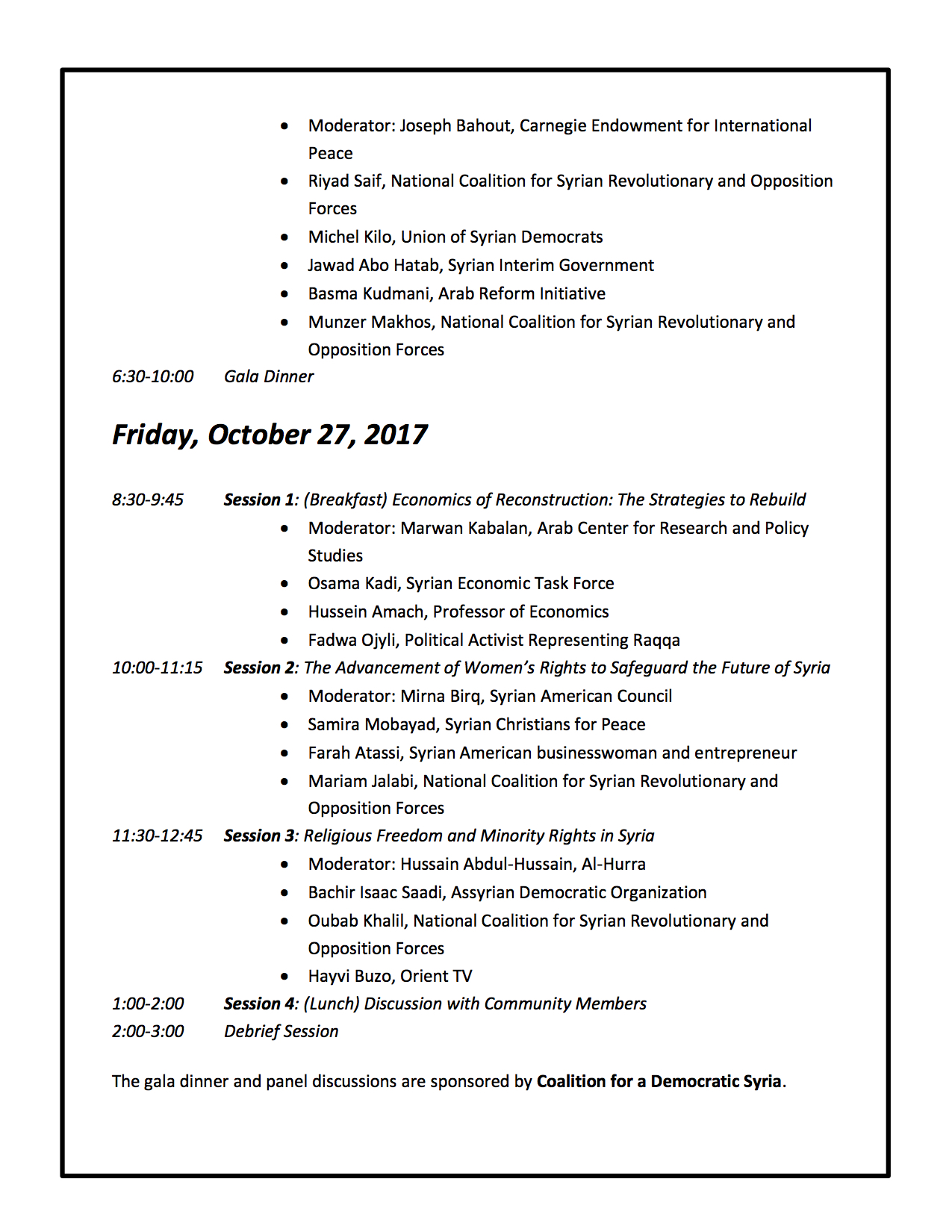 Syria Policy Forum - Agenda with Speakers2.jpg