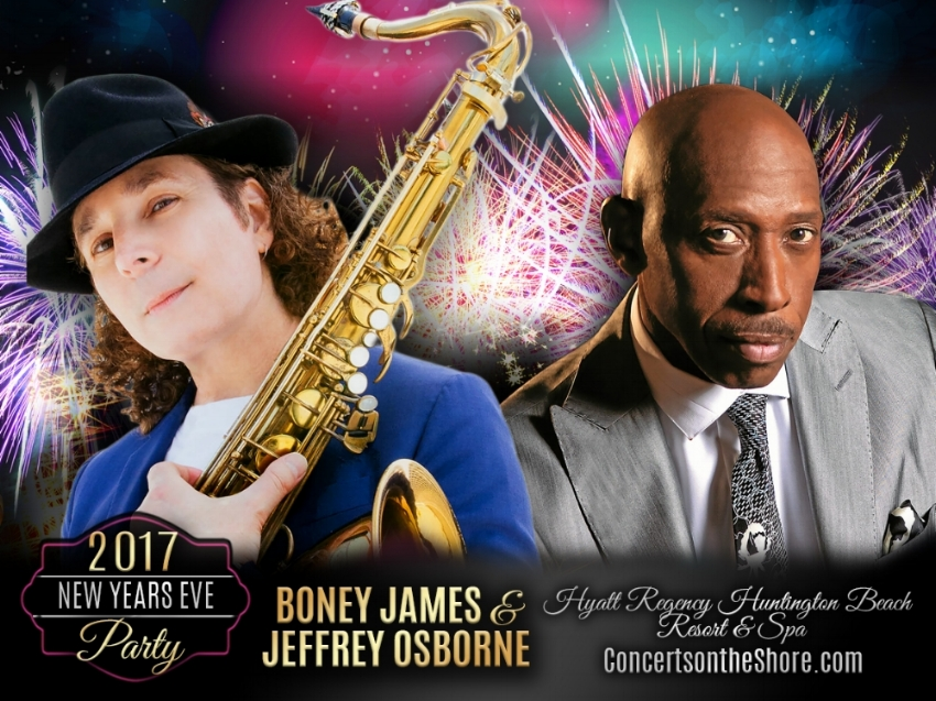 NEW YEARS EVE! - California, come ring in the new year with me and boney james at the hyatt regency huntington beach. tickets are now on sale, get them before it's too late!
