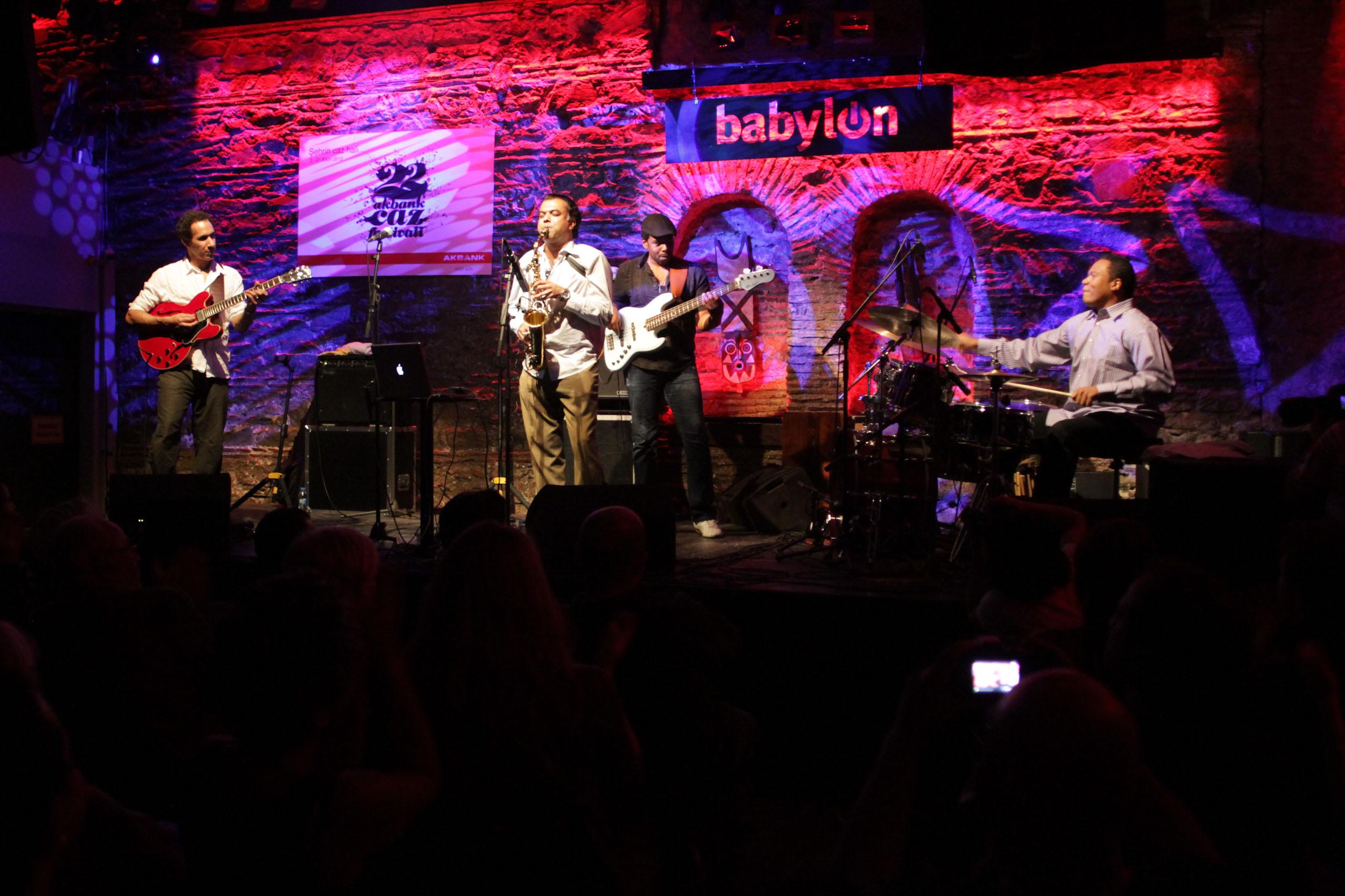Samdhi Live at the Istanbul Jazz Festival