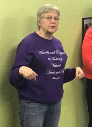 This is my Democrat opponent. I believe she cares about our community. But she has, in my view, some radically progressive views that are not in line with our district. I am confident that she has no chance of winning. She has raised almost no money and she does not enjoy the full throated support of many Democrats. Our district is just not winnable for a Democrat. - If you want to defeat the Republican, don't vote for someone who cannot win, vote for me instead.