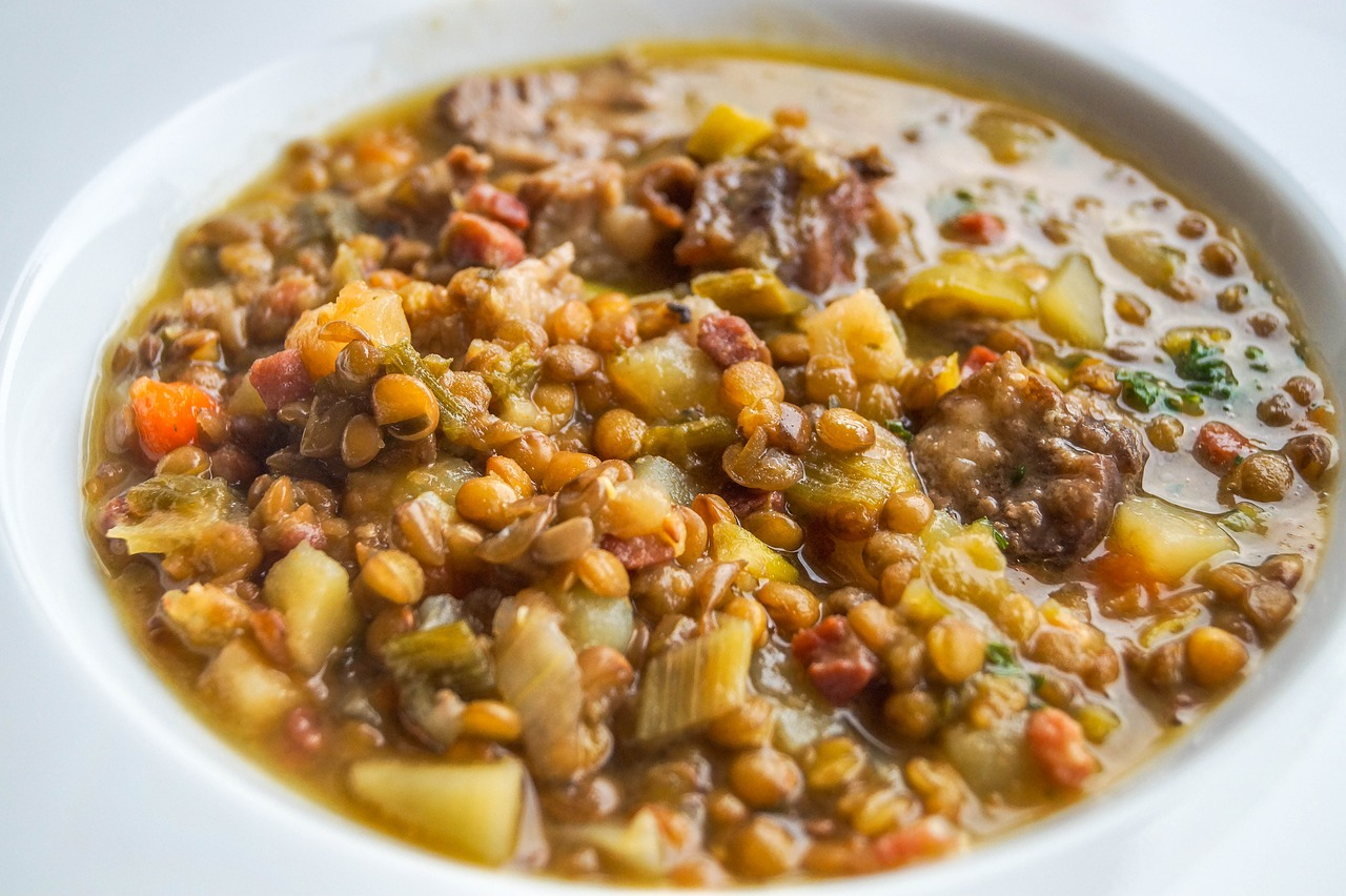 A hearty soup perfect for crisp November nights.