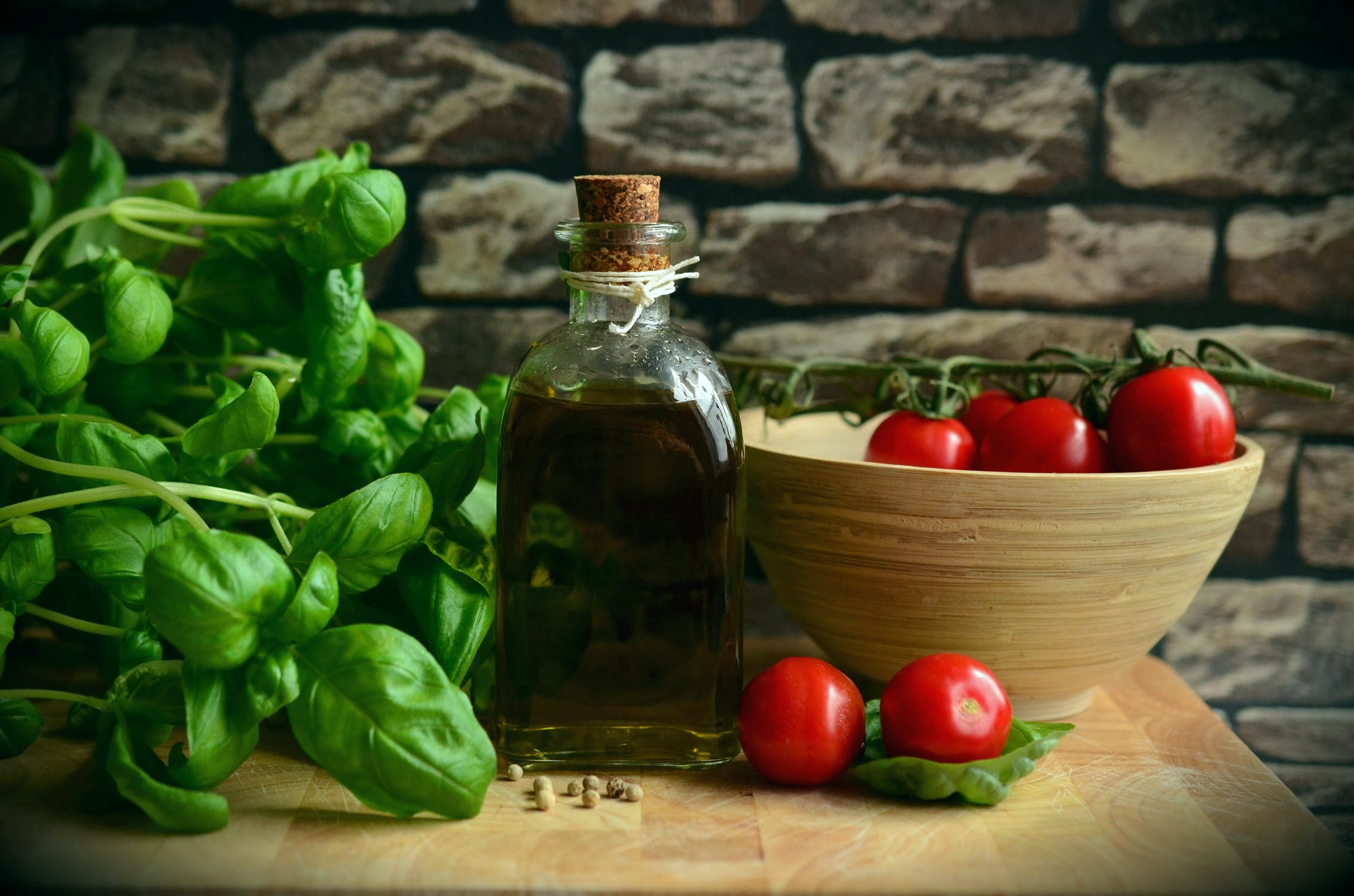 This is a great way to use garden tomatoes and basil. You'll never want to go back to the canned stuff after you try this!