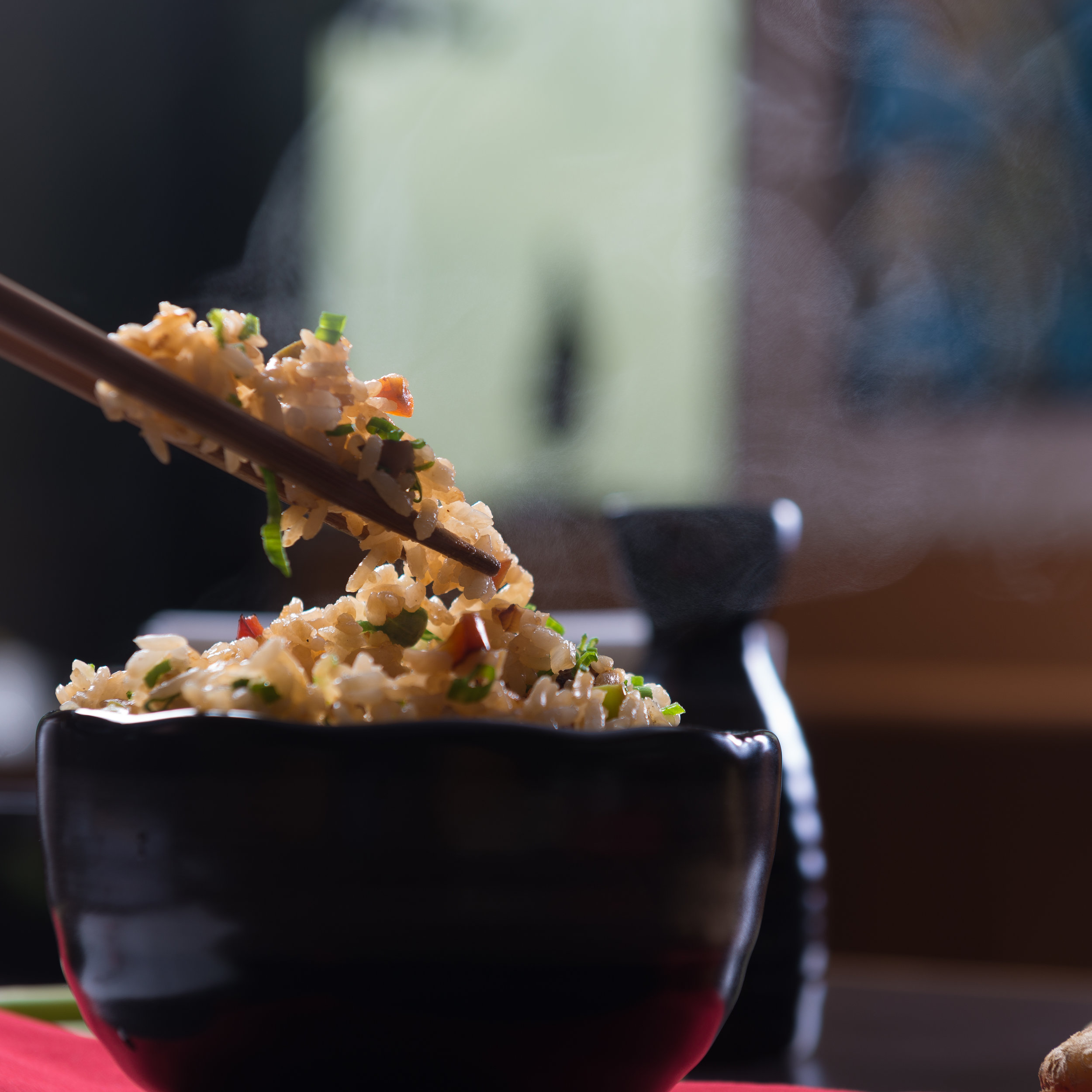 This easy fried rice recipe can be customized with different vegetables depending on what is in season.